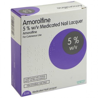 Buy Amorolfine 5% Nail Lacquer online