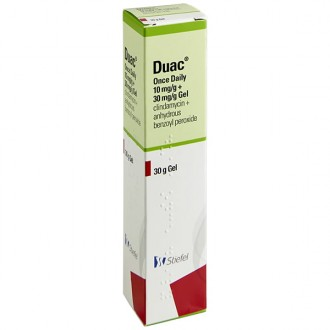 Buy Duac Gel Online Clindamycin Benzoyl Peroxide Acne Treatment Uk