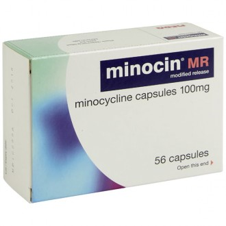 Minocin 100mg MR Capsules