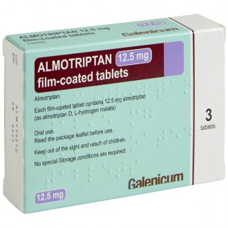 Almotriptan 12.5mg tablets