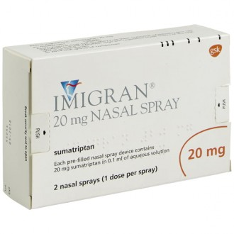 Imigran 20mg Nasal Spray