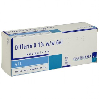 Differin 0.1% Gel