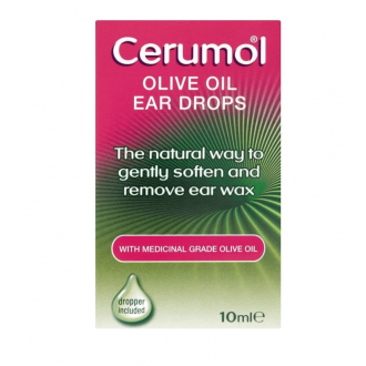 Cerumol Olive Oil Ear Wax Drops