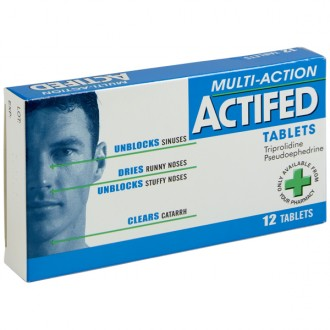 Buy Actifed Multi Action Tablets online