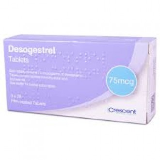 Desogestrel 75mcg Tablets