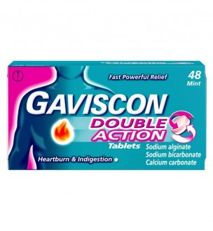 Buy Gaviscon Double Action Tablets online