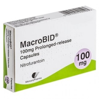 Macrobid (Nitrofurantoin) 100mg Modified Release Capsules