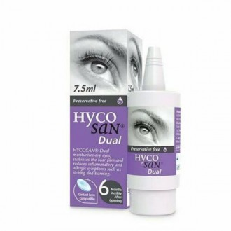 Hycoscan Dual Eye Drops 7.5ml