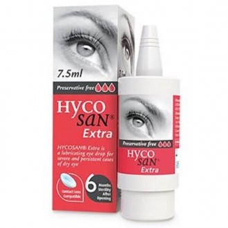 Hycosan Extra Eye Drops 10ml
