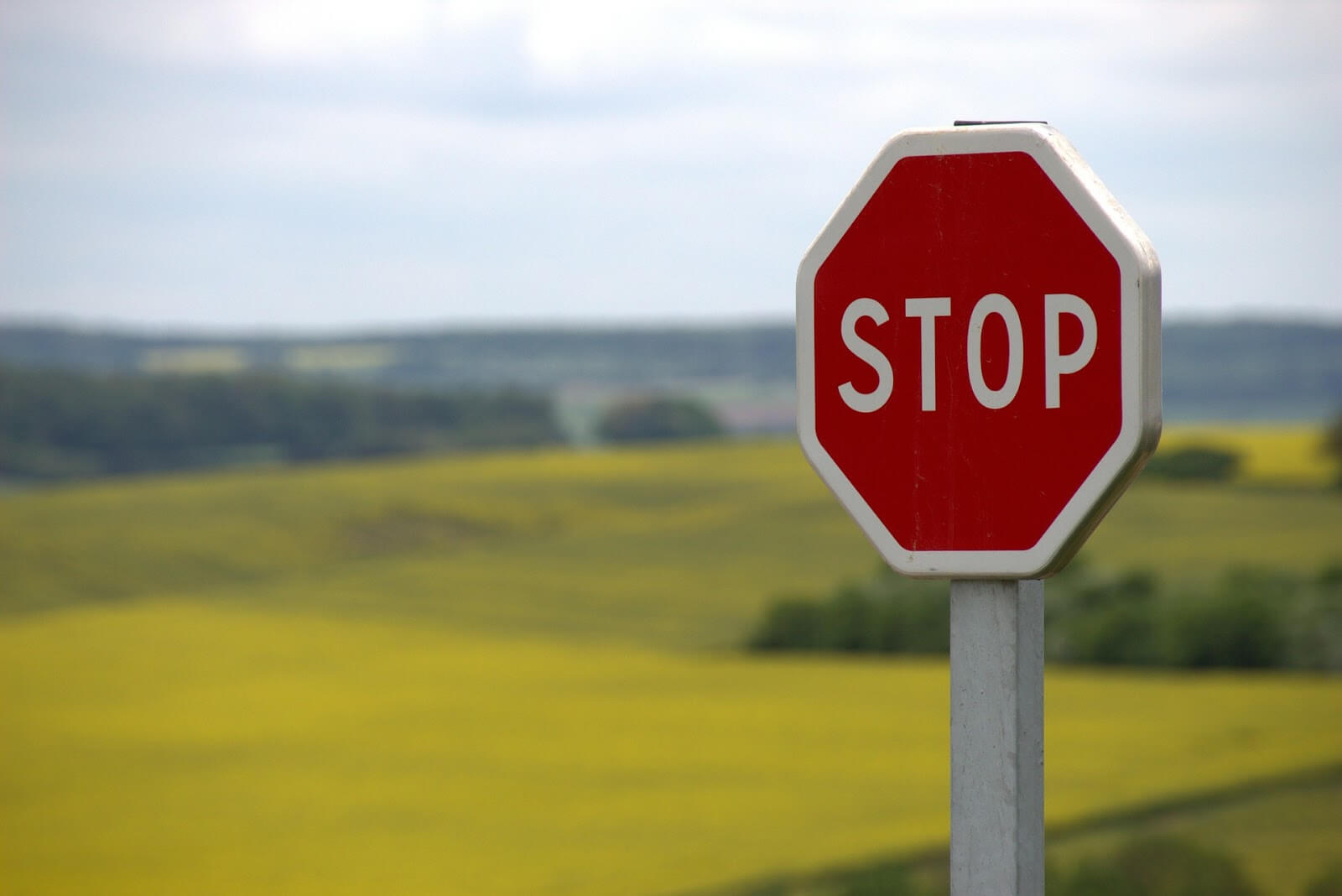 Stop sign: when shouldn't Sildenafil tablets be used
